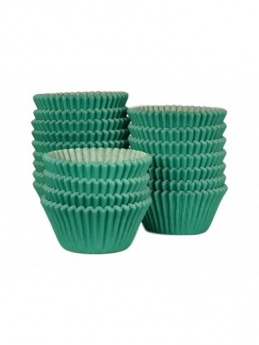 DARK GREEN Baking Cases - Pack of 500 - BULK PACK
