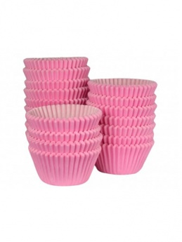 PINK Baking Cases - Pack of 500 - BULK PACK