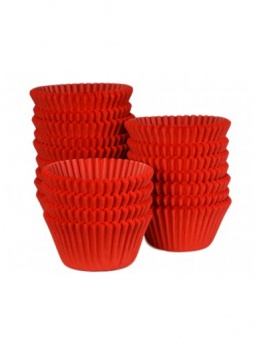 RED Baking Cases - Pack of 500 - BULK PACK
