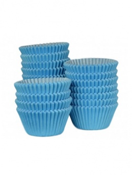 SKY BLUE Baking Cases - Pack of 500 - BULK PACK