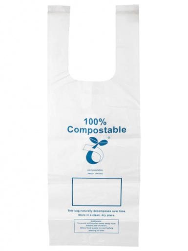 Natural Elements Eco-Friendly Compostable Freezer Bags - Pack of 30