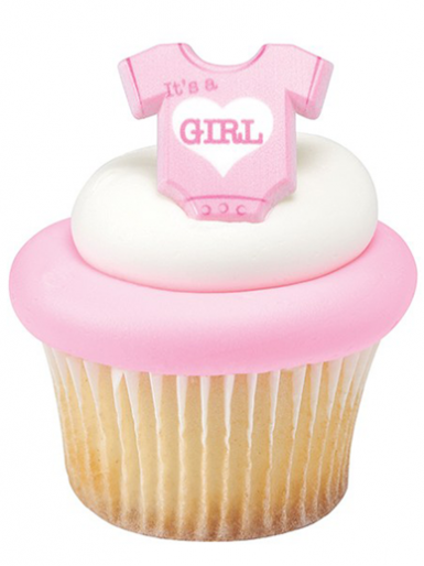 One ''It's a Girl'' Onesie Ring
