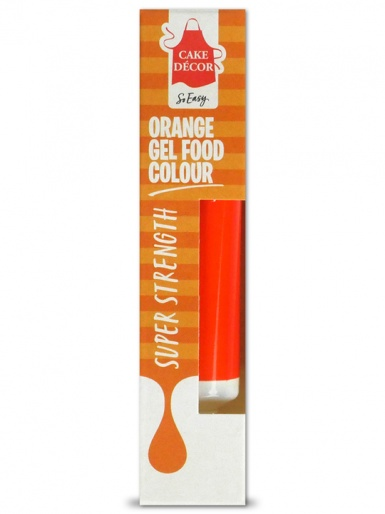 Cake Decor - Food Gel Colour 19g - ORANGE