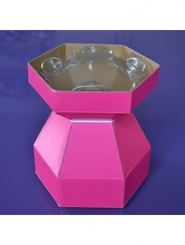 Cupcake Bouquet Box - Cerise