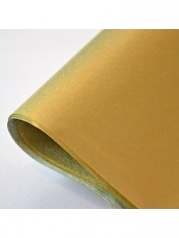 Tissue Paper - 50cm x 70cm 4 Sheets - Gold
