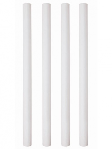 12.5 inch Plastic Hollow Pillars Pack of 4