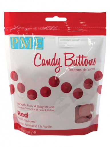 PME Red Candy Buttons 12oz