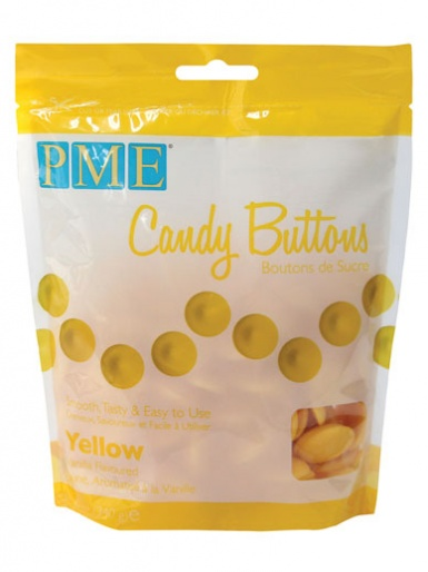 PME Yellow Candy Buttons 12oz