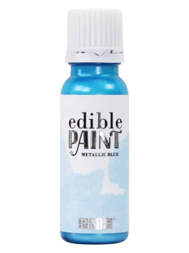 PME Edible Paint 20ml - METALLIC BLUE