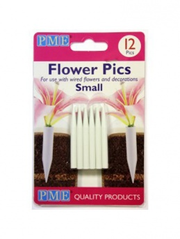 PME Flower Pics Small Pack of 12