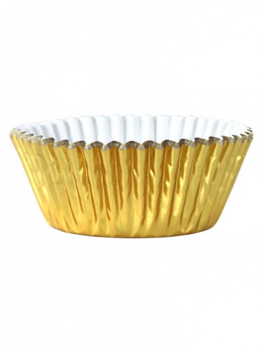 PME Metallic Gold Foil Baking Cases - Pack of 30