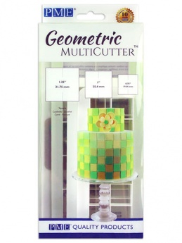 PME Geometric Multi Cutter Set of 3 - Square