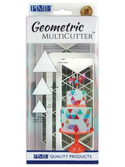 PME Geometric Multi Cutter Set of 3 - Triangle