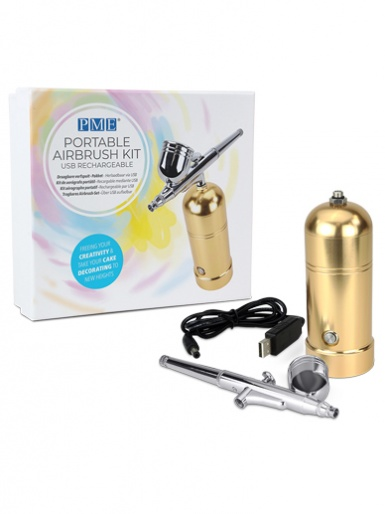 PME GOLD Portable Cake Decorating Airbrush Kit