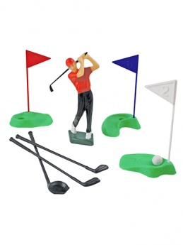 Plastic Golf Set (13 pieces)