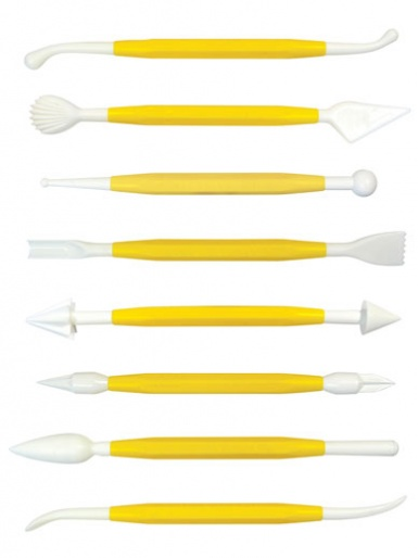 PME Modelling Tools Set of 8
