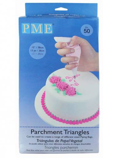 PME Parchment Triangles