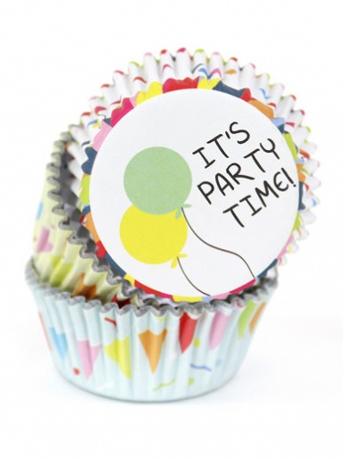 PME PARTY - Foil lined Cupcake Cases - Pack of 60