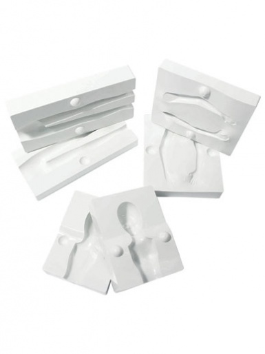 PME People Mould Set of 4 for creating decorative figurines