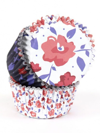 PME TEA PARTY - Foil lined Cupcake Cases - Pack of 60