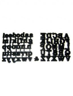 Classic Alphabet Set - Capitals & Lower Case