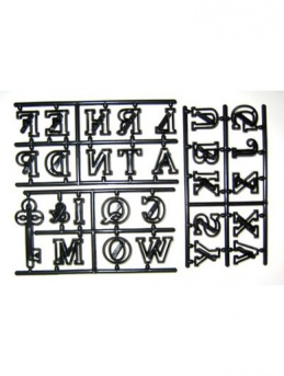 Large Alphabet Set - Capitals & Key