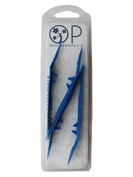 Plastic Tweezers (Pack of 2 BLUE ) - Orchard Products