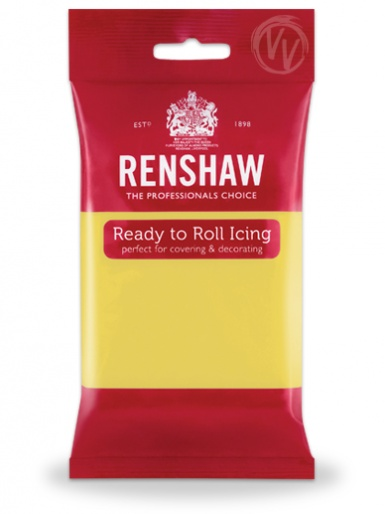 Renshaws Pastel Yellow Ready To Roll Icing