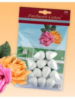 Patchwork Cutters Polystyrene Flower Buds - 35mm
