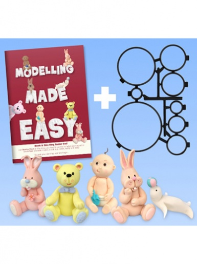 Modelling Made Easy - Book & Size Ring Cutter Set