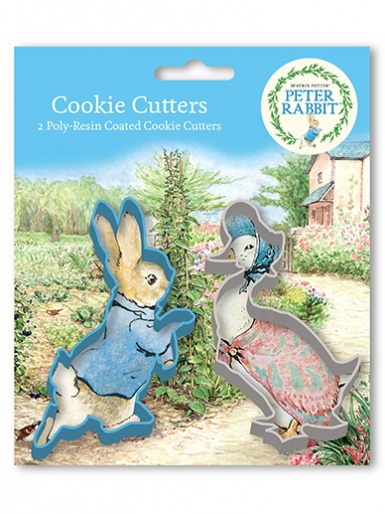 Peter Rabbit Cookie Cutter Set