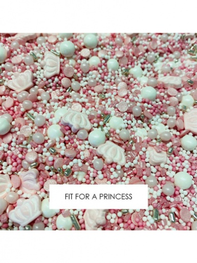 Edible Sprinkles Blend 90g - FIT FOR A PRINCESS