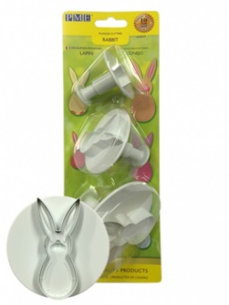 Rabbit Plunger Cutters (set of 3)