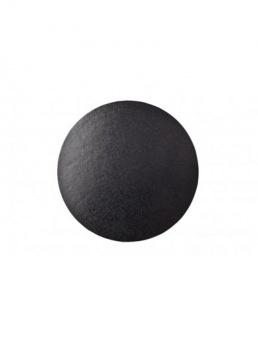 Round Thick Cake Board Drum - Black