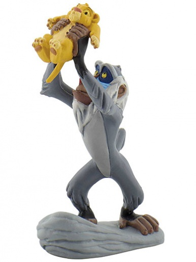 Rafiki with Simba from ''The Lion King'' - Cake Topper / Figurine