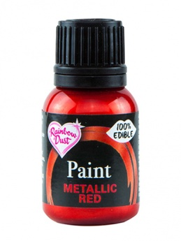 Rainbow Dust Paint - Metallic Red