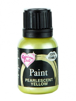 Rainbow Dust Paint - Pearlescent Yellow
