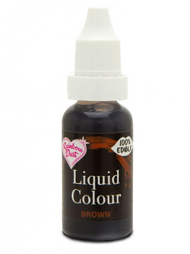 Rainbow Dust Liquid Colour for Airbrushing - Brown
