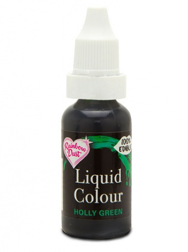 Rainbow Dust Liquid Colour for Airbrushing - Holly Green