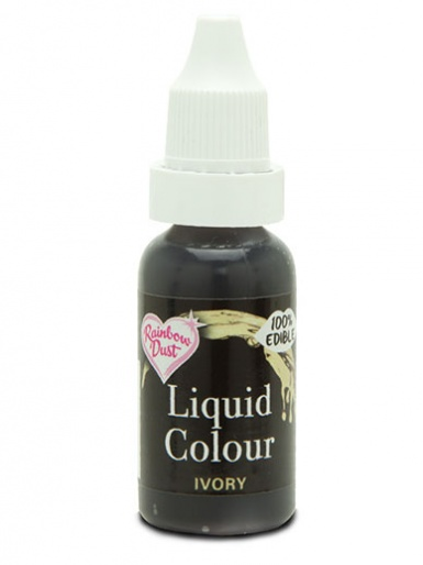 Rainbow Dust Liquid Colour for Airbrushing - Ivory