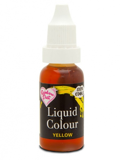Rainbow Dust Liquid Colour for Airbrushing - Yellow