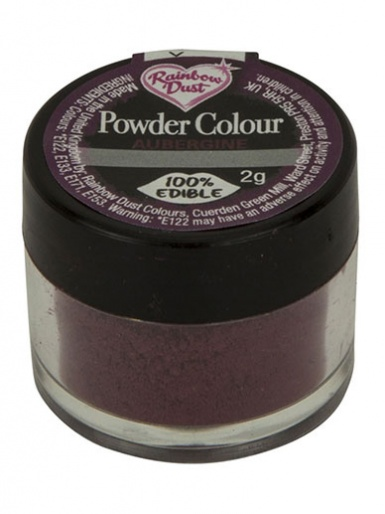 Rainbow Dust - Powder Colour - Aubergine