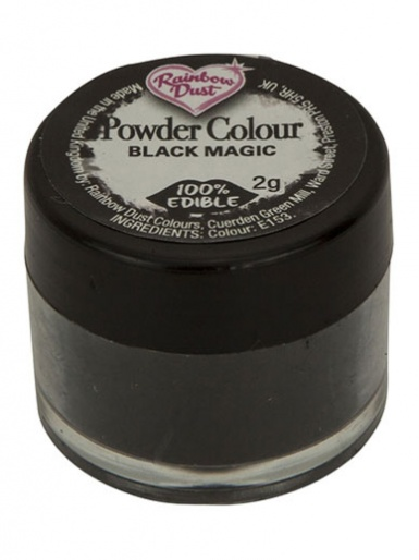 Rainbow Dust - Powder Colour - Black Magic