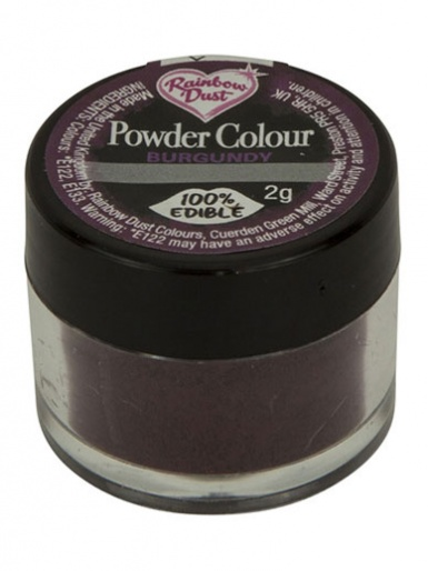 Rainbow Dust - Powder Colour - Burgundy
