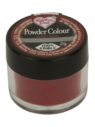 Rainbow Dust - Powder Colour - Chilli Red