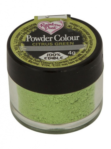 Rainbow Dust - Powder Colour - Citrus Green