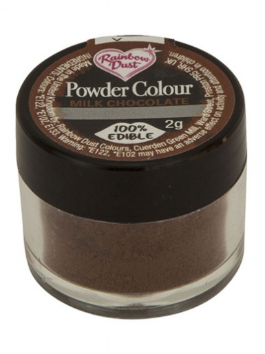 Rainbow Dust - Powder Colour - Milk Chocolate