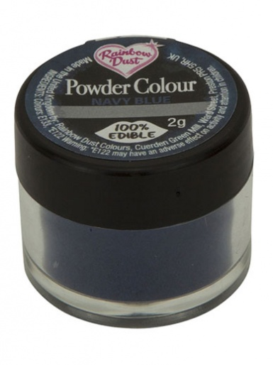 Rainbow Dust - Powder Colour - Navy Blue