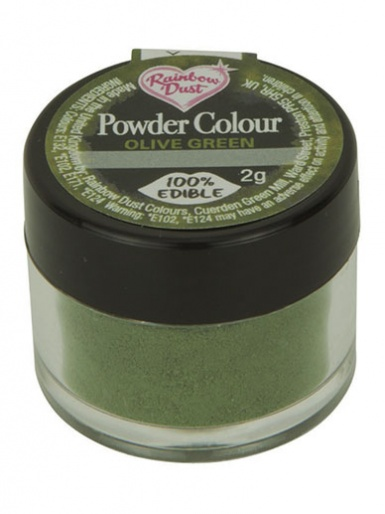 Rainbow Dust - Powder Colour - Olive Green