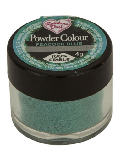 Rainbow Dust - Powder Colour - Peacock Blue